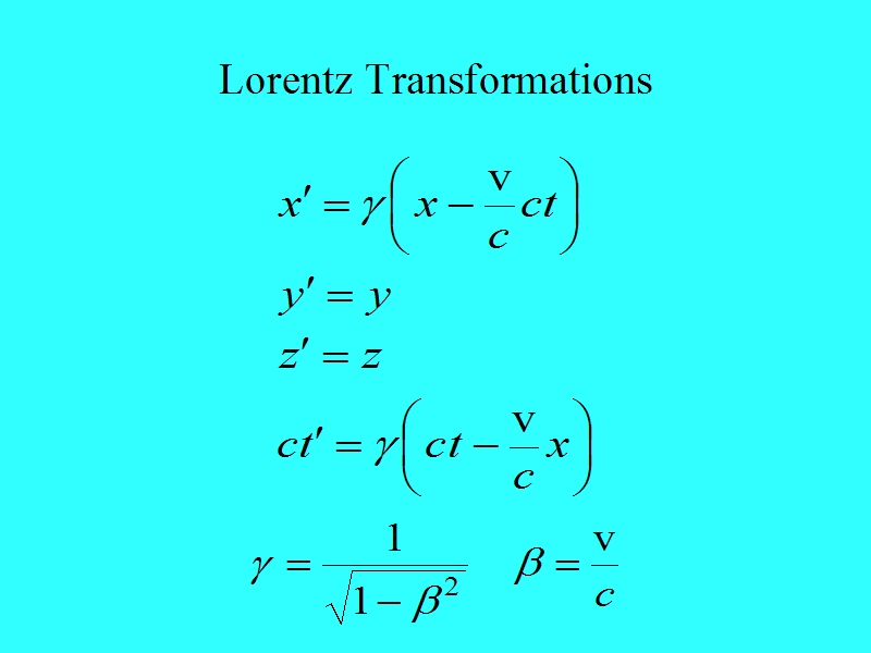 LorTransformations