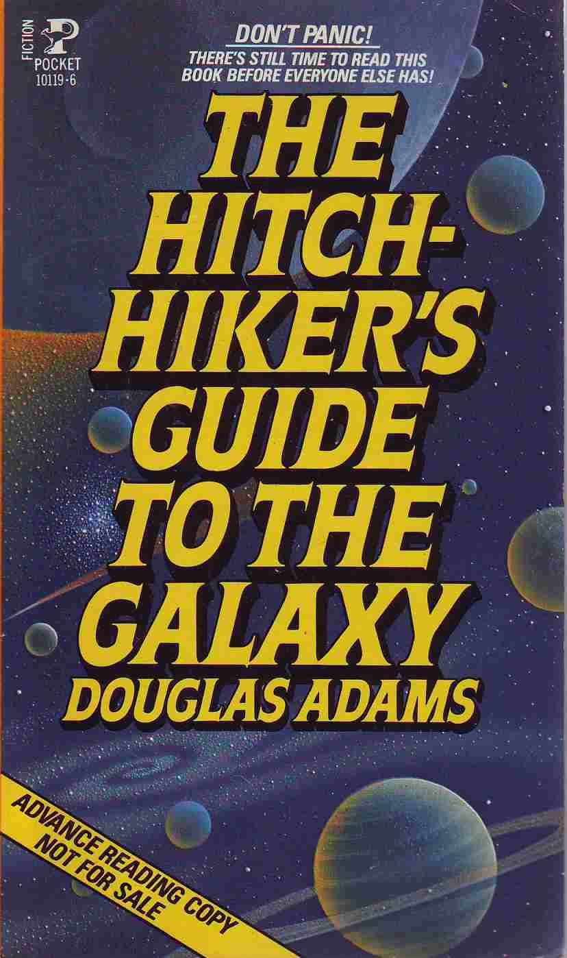 essays on douglas adams Heroes are people you look up to, are inspired by, and hear about on the news douglas adams might not have been in the news saving lives, but he brings inspiration to other writers.